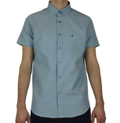Gabicci Vintage Oxford Shirt - Mint