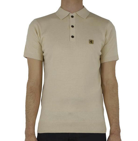0d1bc983d Gabicci Vintage Knitted Polo - Oat
