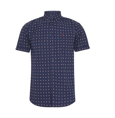 Merc Cavalry Shirt - Navy