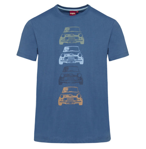 Merc Kew T-Shirt - Bright Blue