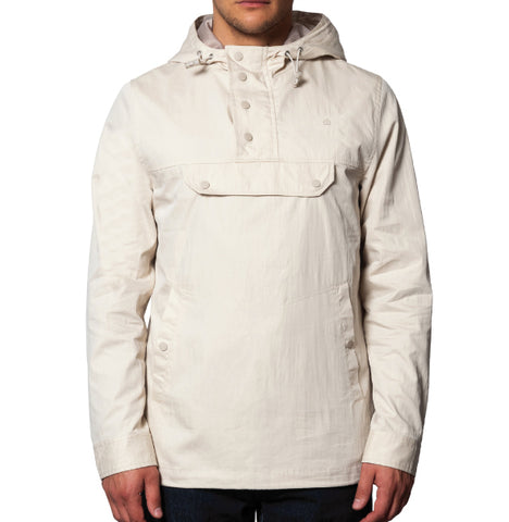 Merc Shield Hooded Jacket - Stone