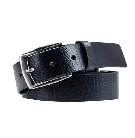 Souled Out Casual Leather Belt - Black