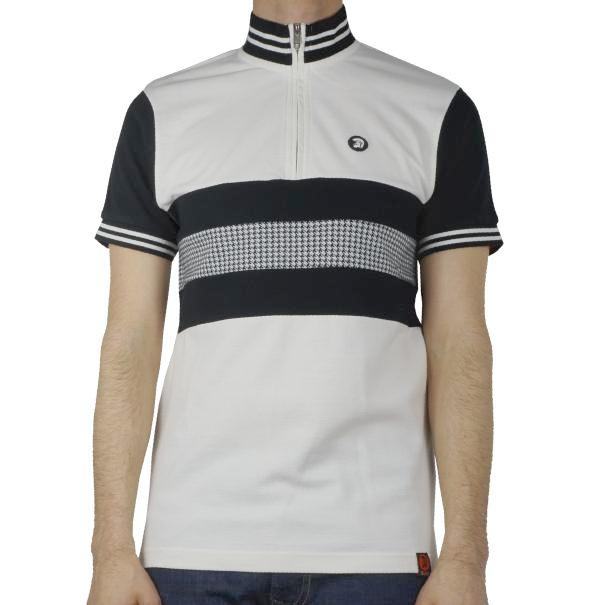 Trojan Cycling Shirt - Ecru Racing - Trojan Records - ModWear