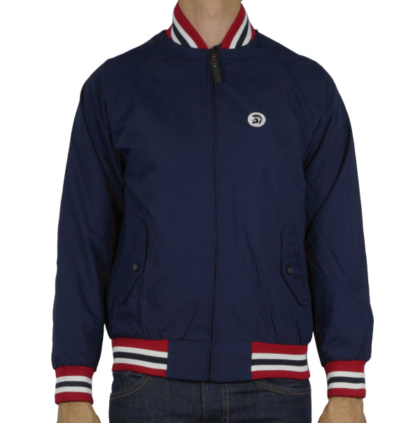 Trojan Plain Monkey Jacket - Navy - Trojan Records - ModWear