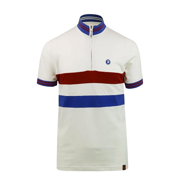 Trojan Cycling Shirt - Ecru - Trojan Records - ModWear