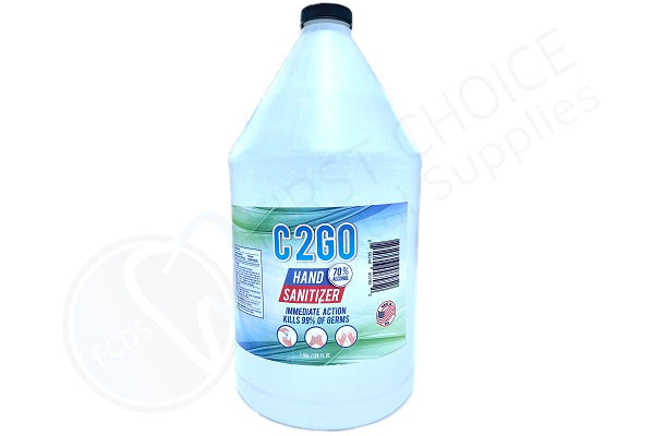 House Brand C2Go 70% Alcohol Hand Sanitizer - 1 Gallon - First Choice Dental Supplies