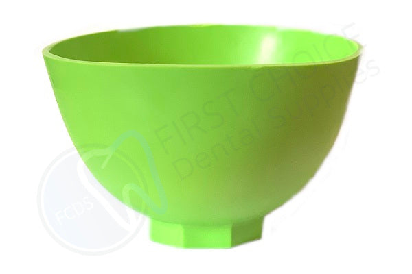"House Brand Large 5.25"" Mixing Bowl - Green - First Choice Dental Supplies"