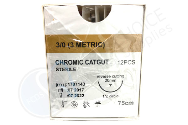 House Brand Surgical Catgut 3/0 Sutures Specs