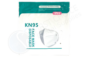 House Brand KN95 Disposable Face Mask - First Choice Dental Supplies 1