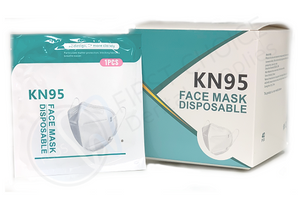 House Brand KN95 Disposable Face Mask - First Choice Dental Supplies