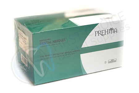 Keystone Industries Prehma Disposable Dental Surgical Plastic Hub Needle (Box of 100) - 30g Short