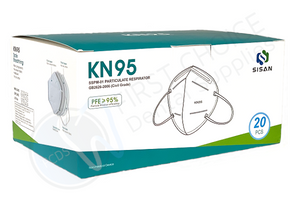 Sisan KN95 Protective Medical/Dental Mask - First Choice Dental Supplies