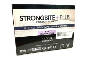 StrongeBite Plus Bite Registration (4 x 50mL) - First Choice Dental Supplies