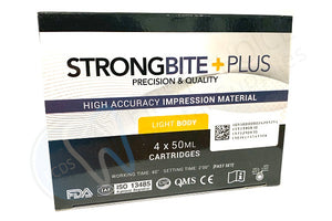 StrongBite Plus Impression Material - Light - First Choice Dental Supplies