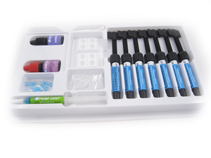 Prime-Dent Light Cure Nano Hybrid Composite 7 Syringe Kit - 2