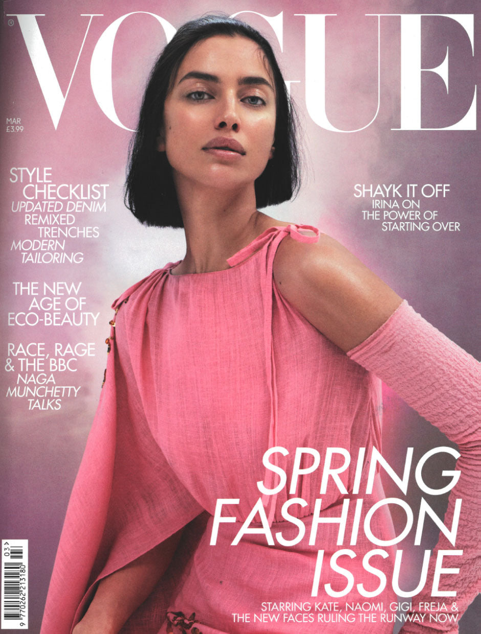Van Dalsky @ British Vogue March Issue