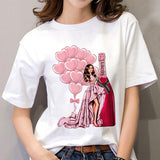 Fashion, Beauty, Champagne Shirt