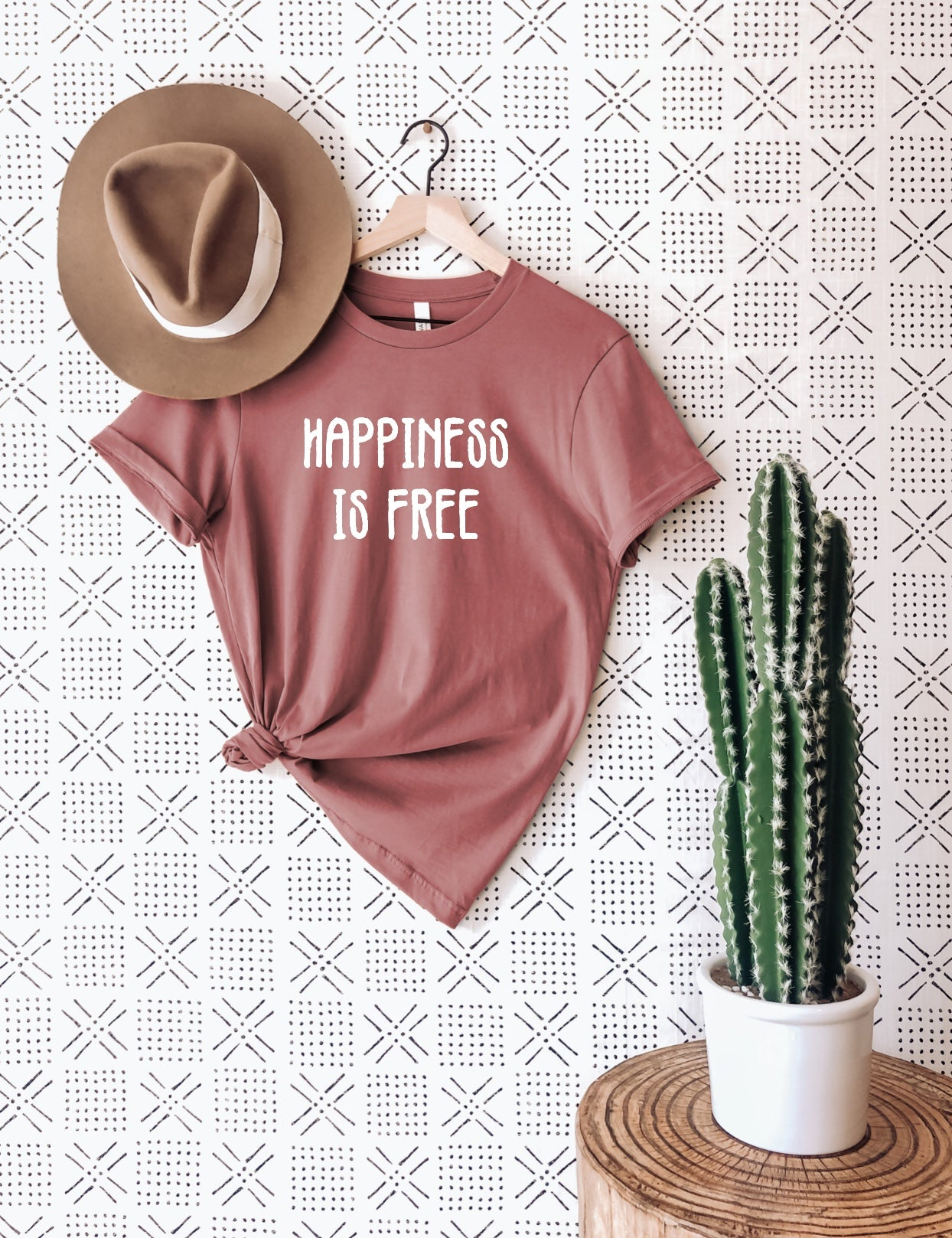 Happiness is Free T-Shirt