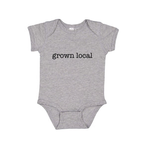 Grown Local - Infant Baby Rib Bodysuit - Onesie - Girl - Boy - unisex