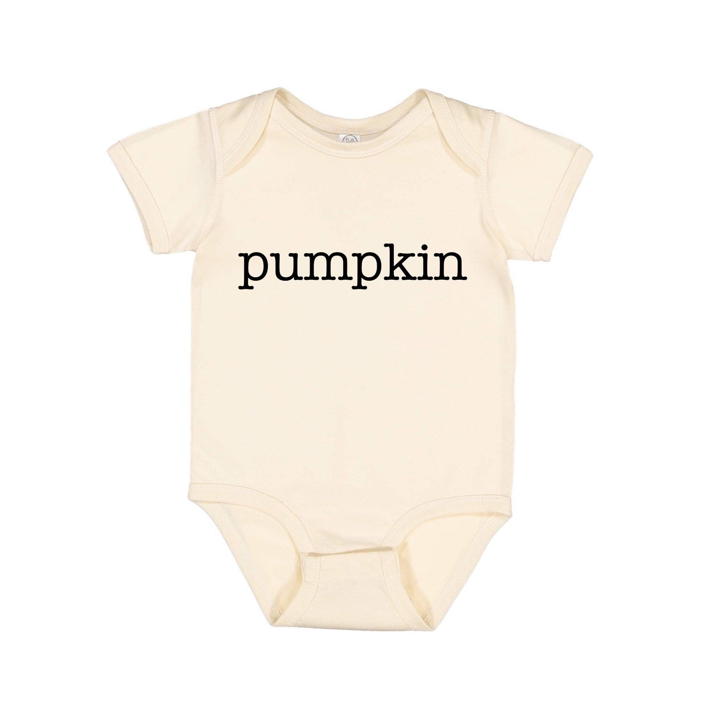 Pumpkin - Infant Baby Rib Bodysuit - Onesie - Girl - Boy - unisex