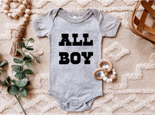 Load image into Gallery viewer, All Boy - Baby Onesie