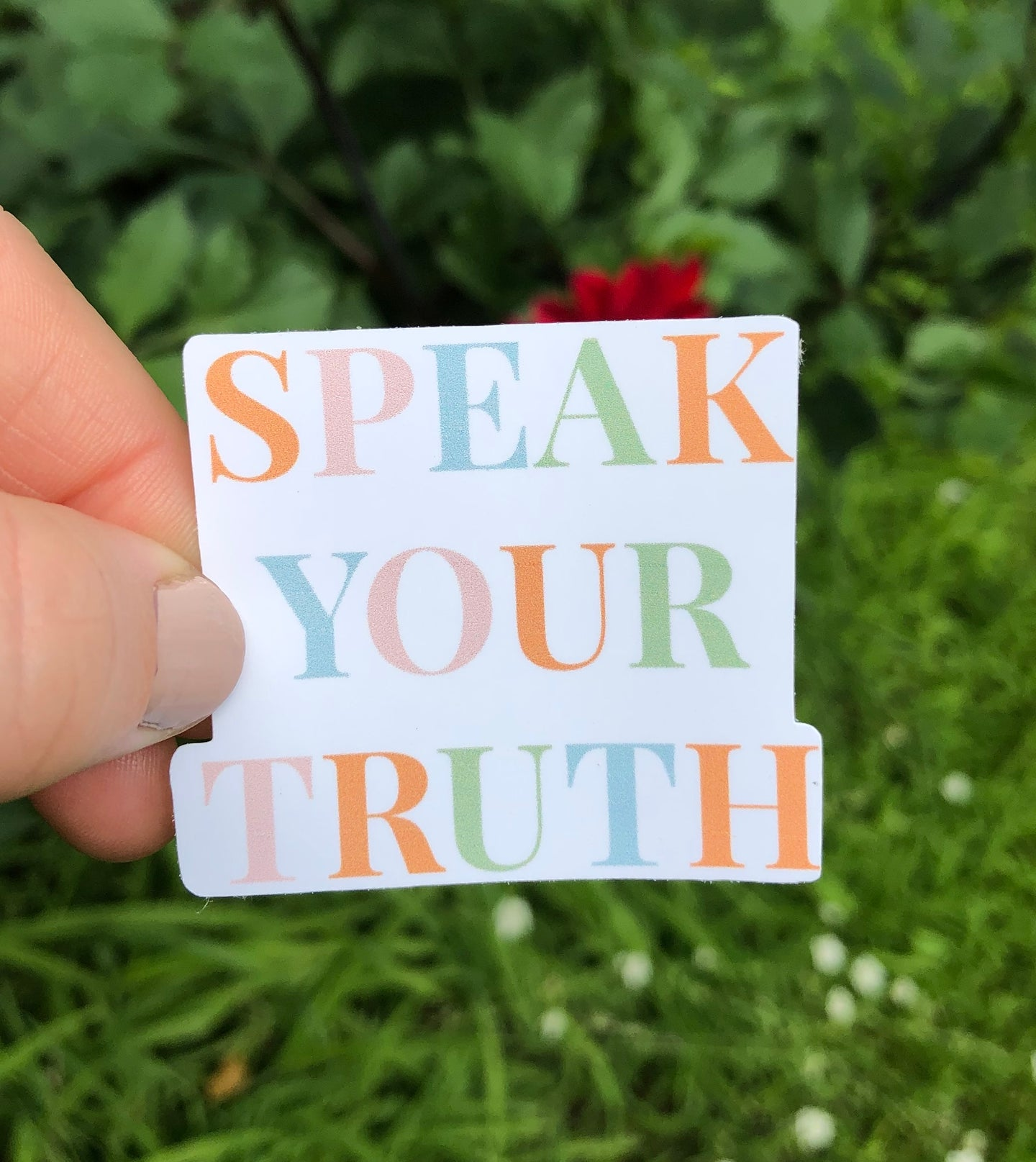 Speak Your Truth Hydroflask Water Bottle Stickers