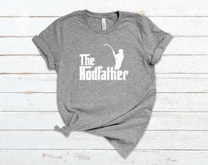 The Rod Father Dad T-Shirt