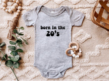 Load image into Gallery viewer, Born in the 20's - Baby Onesie