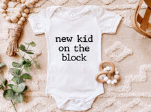 Load image into Gallery viewer, New Kid On The Block - Baby Onesie