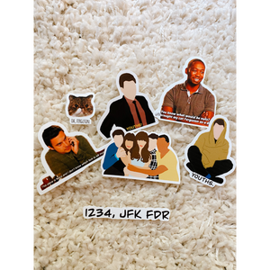 New Girl Stickers