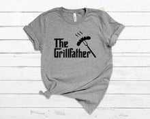 Load image into Gallery viewer, The Grill Father - Dad T-Shirt