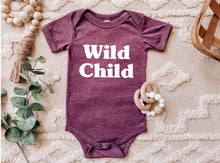 Load image into Gallery viewer, Wild Child - Baby Onesie