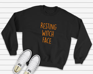 Resting Witch Face Sweatshirt