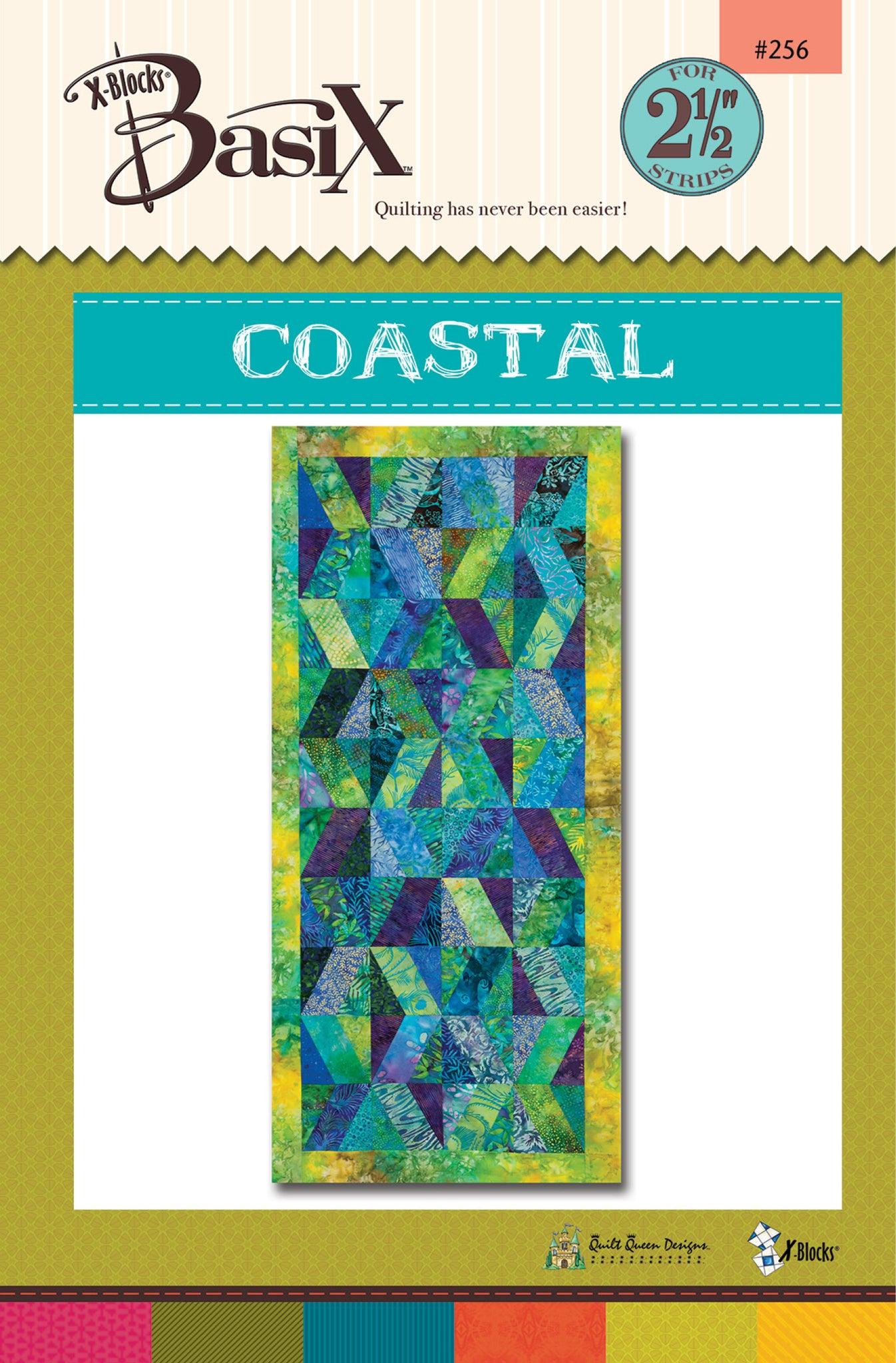 Coastal BasiX Tablerunner Pattern