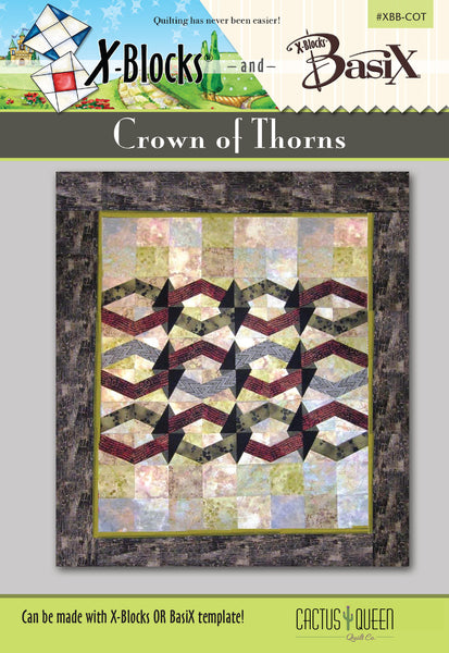 Crown of Thorns BasiX & X-Blocks Pattern