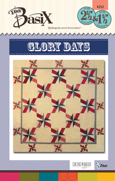 Glory Days BasiX Quilt Pattern