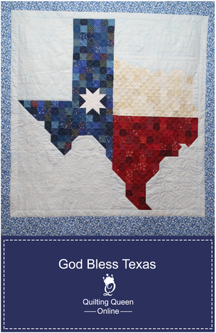God Bless Texas Quilt Pattern by Doris Rice