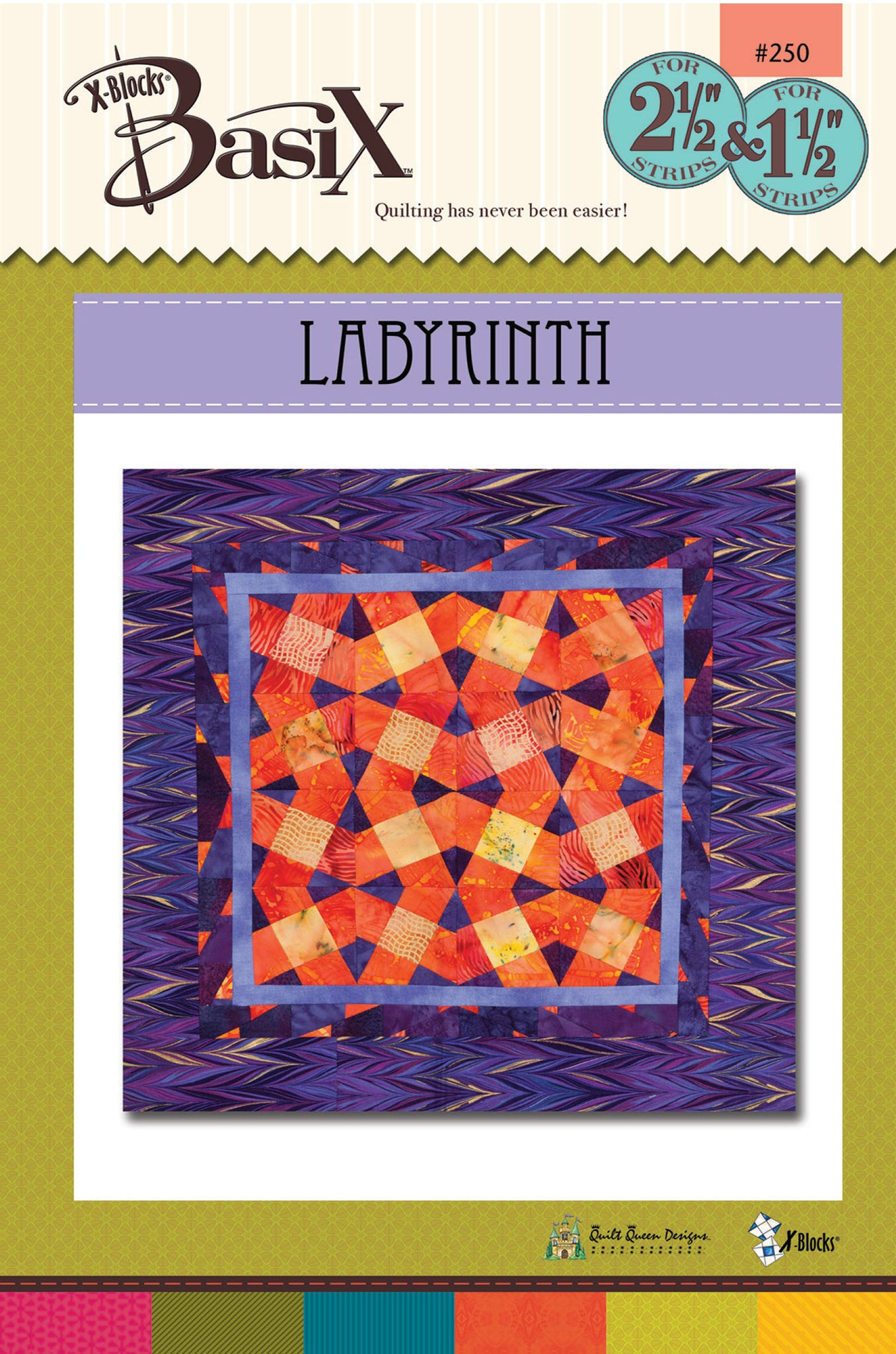 Labyrinth BasiX Quilt Pattern