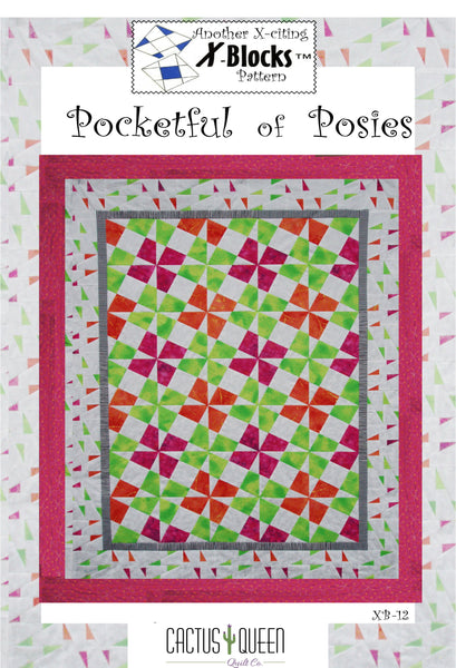 Pocketful of Posies X-Blocks Pattern