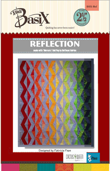 Reflection Quilt Pattern by Cactus Queen Quilt Co