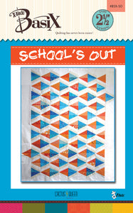 School's Out BasiX Quilt Pattern