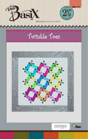Twinkle Toes Quilt Pattern by Cactus Queen Quilt Co
