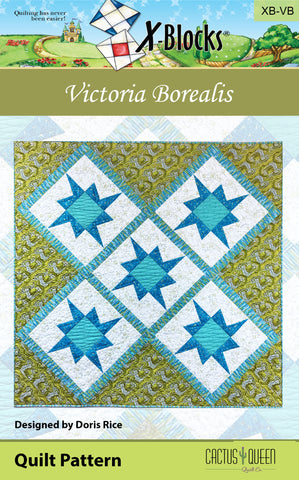 Victoria Borealis X-Blocks Pattern