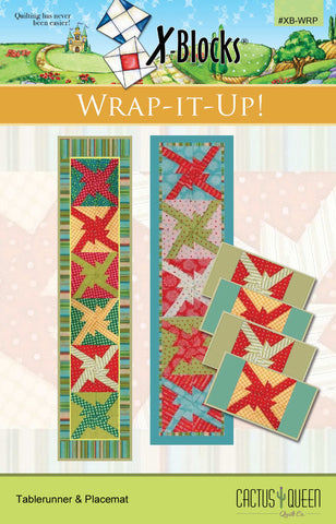 Wrap-It-Up X-Blocks Pattern