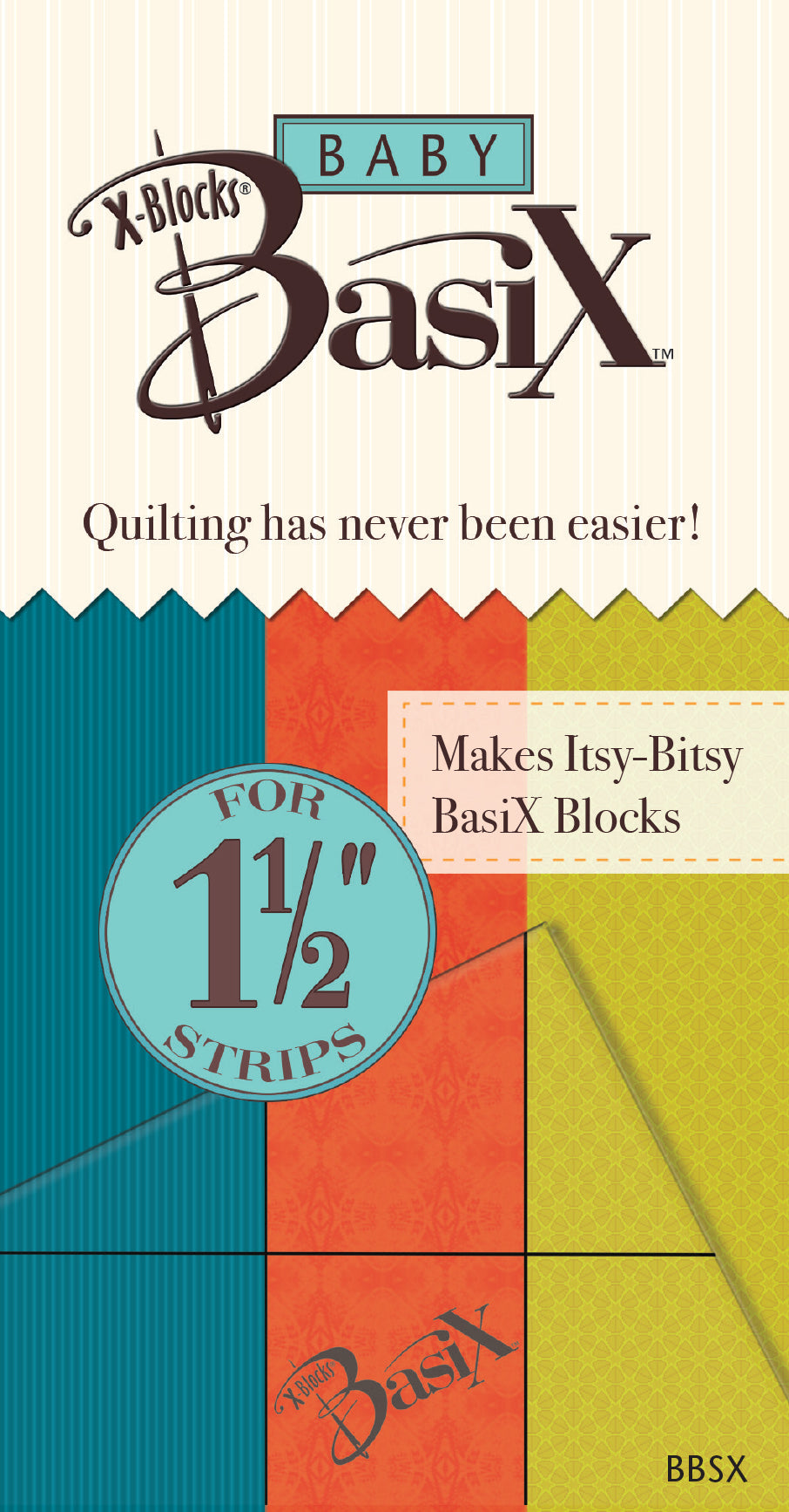 Baby BasiX Template by Cactus Queen Quilt Co