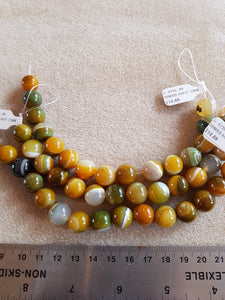 Agate Banded Yellow/Green