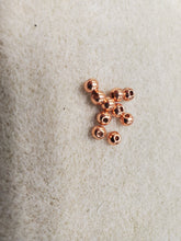 Load image into Gallery viewer, 304 Stainless Steel Rose Gold Round Spacer