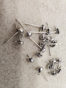 316 Stainless Steel earring stud