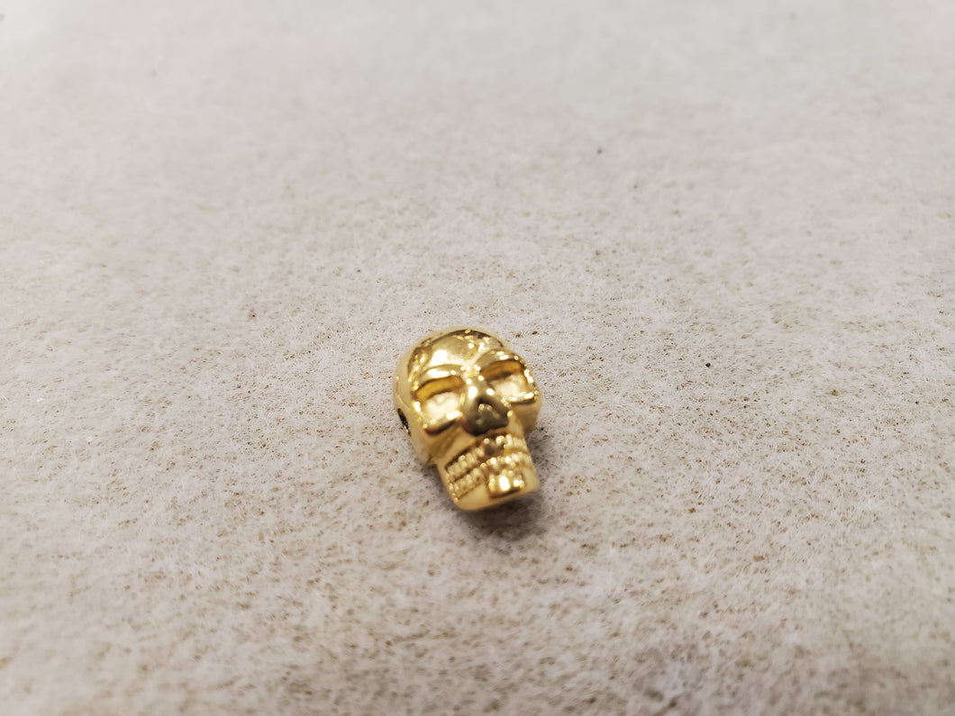 304 Stainless Steel Skull Bead