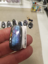 Load image into Gallery viewer, Purple Labradorite Cabochon
